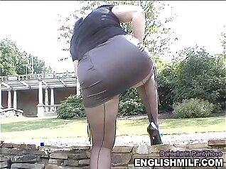 BBC Ass Fucks The Plumber Outdoors In Public Park