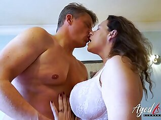 Blonde Mature Seduced by Stepdaughter