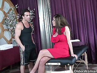 Crazy accomposite fuck-fest that only involves mature massage