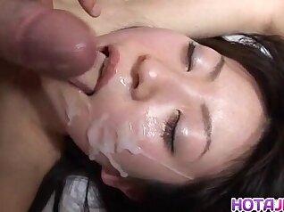 Amazing Japanese model Yukari Asamura in Hottest JAV uncensored Cumshots clip