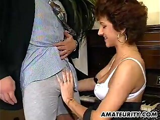 Amateur mature wife homemade Threesome For A Rose