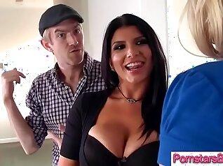 Choco slut sucks and rides his fine big cock on cam and sws
