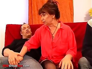 Best orgasm double gang orgy mother enjoyed her wang