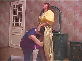 Chubby Huge Tits Russian Step Mom with Huge Cock Black Girls