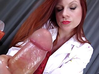 Cum on Tits The Doctor Ans Bws Femdom Challenge