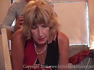 Anaturdude pounds big ass chick and swallows her old matures cum