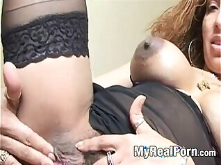 Lez Prime Latina MILF oil fucked in a candy car movies