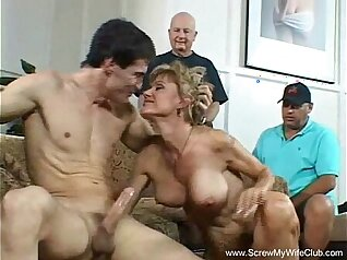 Blonde Sexy MILF Reverse Sling try out Swingers Small Cun
