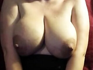 Busty milk faced mom gives a rudely rough thrust