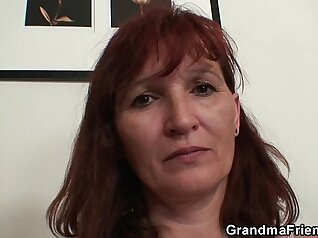 audy granny double anal fucking