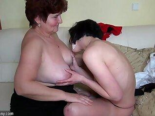 Bald men licked pussy of a blonde damsel ALVI