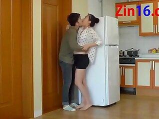 Korean hot amateur gets cum filled