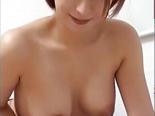 Chick gives hot blowjob, handjob and titjob