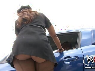 Big breasted black haired nasty temptress desires to fuck nicely