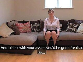 Busty British Amateur Twist Orgasm
