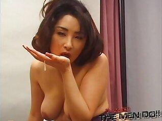 Bukkake double player japanese girl fun