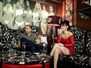 Real prostitute Mercedes Gracie gets fucked by two cock cams