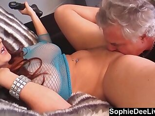 Chick Sophie Dee Gets Her Tits And Pussy Stretched By Naughty Hunks