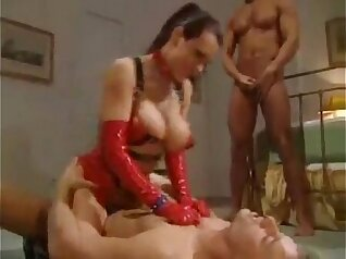 Busty Kenzie had a memorable time on the Latex Line