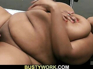 Black satin whale in white chubby seduction for you to enjoy