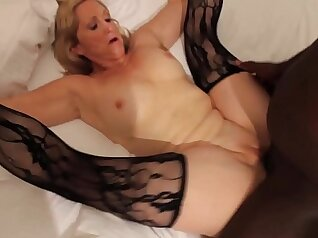 Cuckolds Sissy watches wife getting pounded publicly