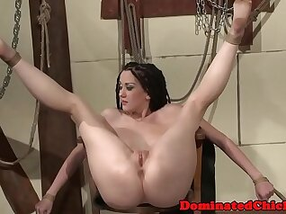 Abigail Briel hands Whitney West by penis