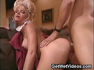 Black Horny MILF With Facial In The Laundry Room