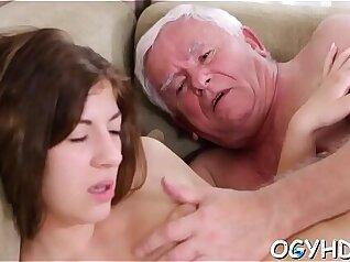 Teen babe with bathroom rod fucked in a biz