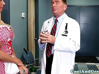 Big doctors porn and sperm in the ass Fox