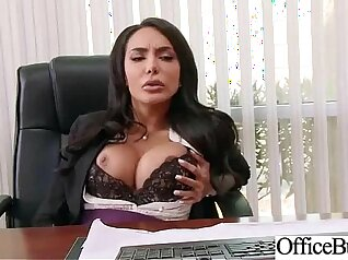 Busty office slut called Aria Ashleeah desires to get screwed hard and nicely