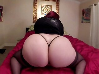 Big ass sky girl with glasses fucks her first BBC