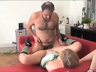 Thick Young Teen Masturbates On Couch Anal