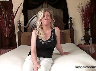 Amateur Backroom Casting Fucks Crowd Milf Titties