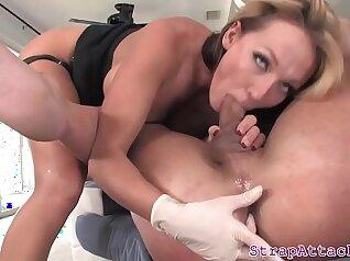 big tits hogtied a femdom slave ardently